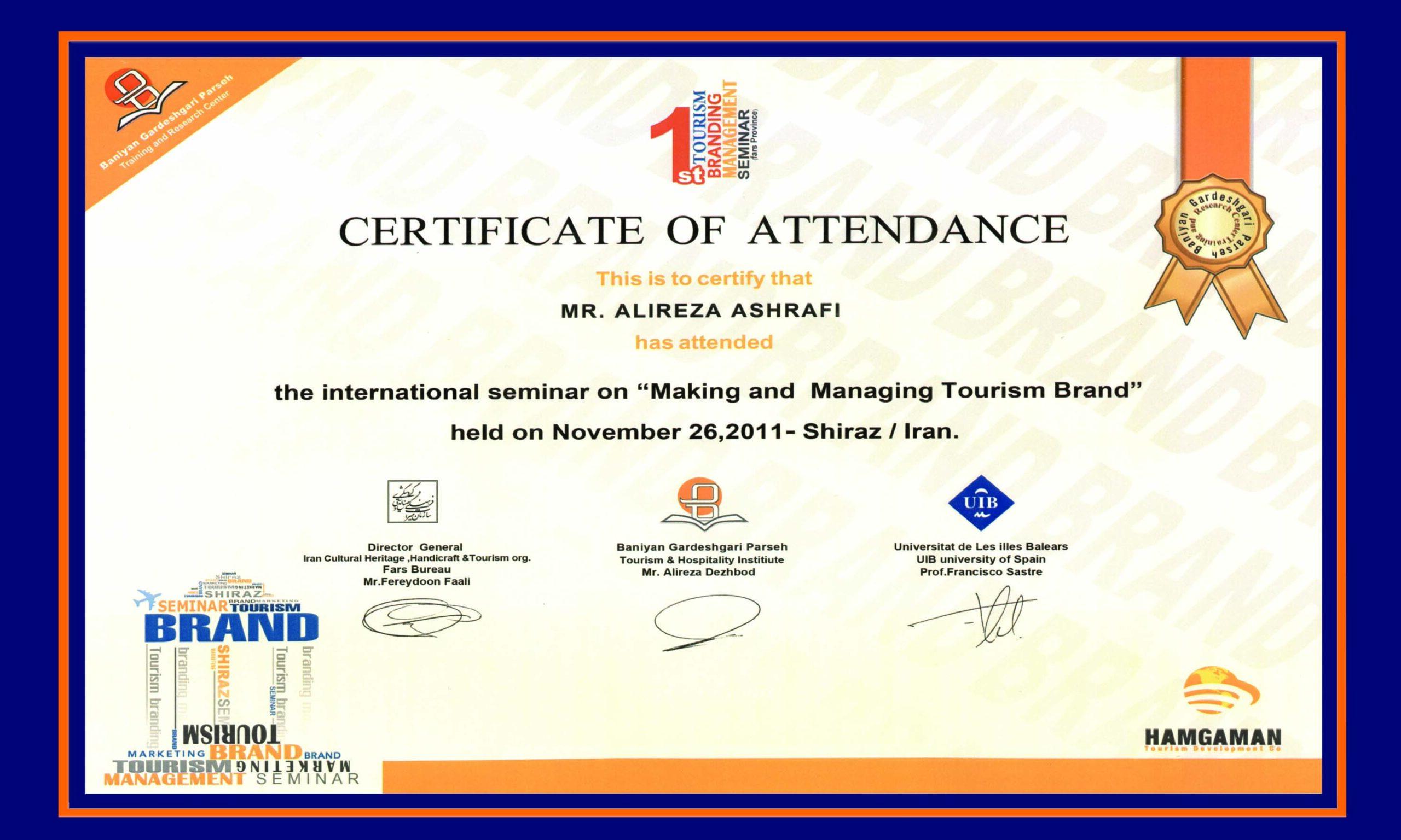 tourism award derak travel