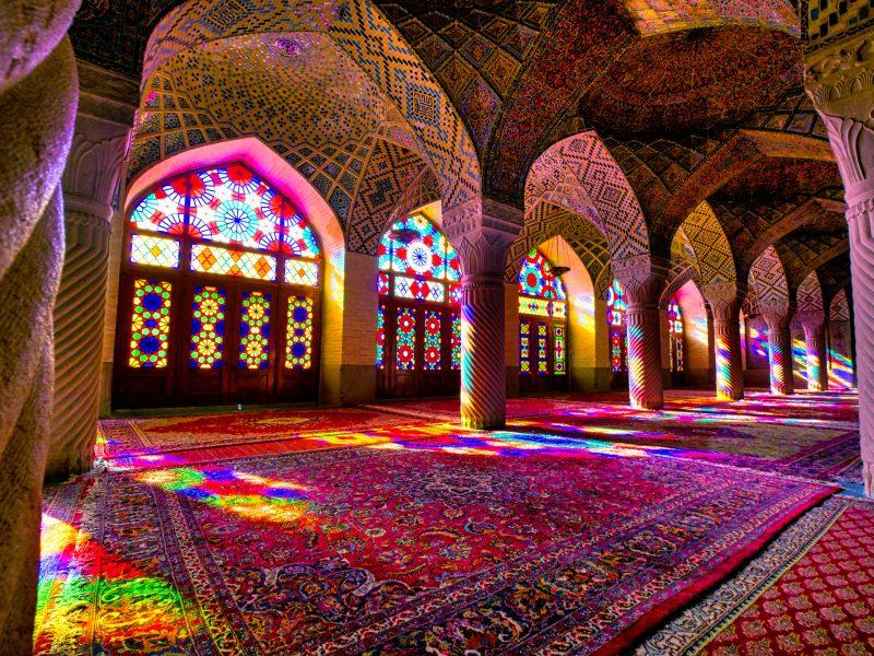 Nasir al molk mosque SHIRAZ